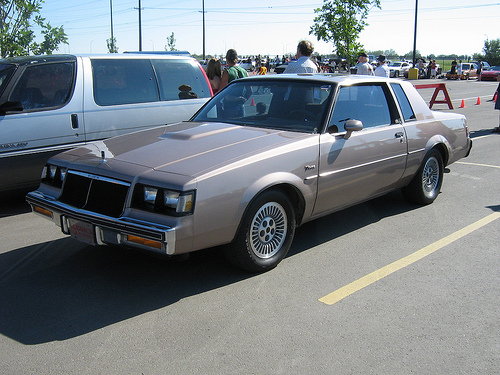 1984 buick regal t type brown