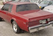 1984 Buick Regal T Type Red