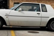 1984 Buick Regal T Type White