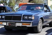 1985 Buick Regal T Type Dark Blue Metallic