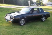 1985 Buick Regal T Type Black