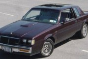 1985 Buick Regal T-Type Dark Red Metallic