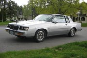 1985 Buick Regal T Type Silver Metallic