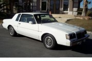 1985 Buick Regal T Type White