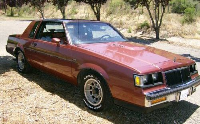 rosewood 1986 buick t-type