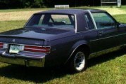 1987 Buick Regal Limited Dark Blue Metallic