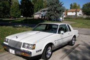 1987 Buick Regal Limited White