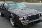 1987 Buick Regal Limited Dark Red Metallic