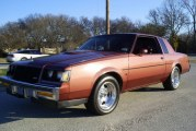 1987 Buick Regal Turbo T Rosewood Metallic