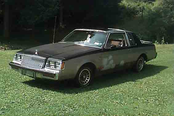 1983 buick regal t type