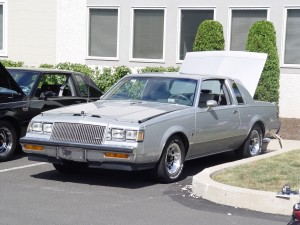silver Buick Turbo T