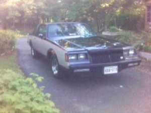 1981 buick regal two tone