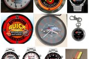 Buick Grand National Clock & Buick Watch