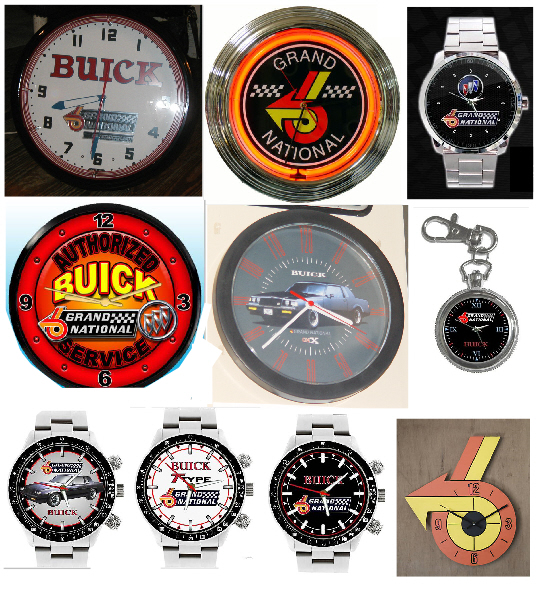 buick grand national clocks