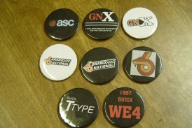 Buick Grand National Pins & Buttons