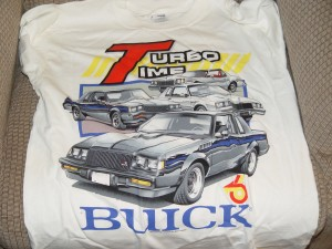 Buick Turbo Time t-shirt
