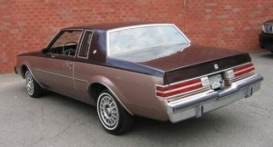 1987 Buick Regal two tone