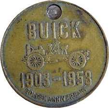 buick golden anniversary medal