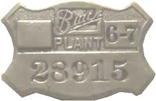 buick plant badge