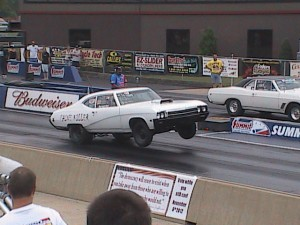 big buick wheelie