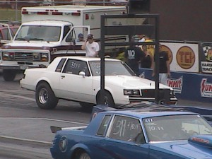 turbo buick at the dragstrip
