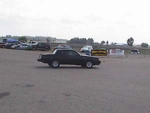 buick turbo regal at the racetrack