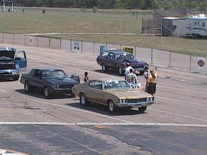 buick in the staging lanes