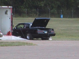 parachute on a buick grand national