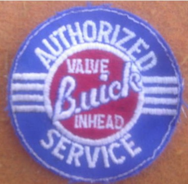 1950s style buick patch
