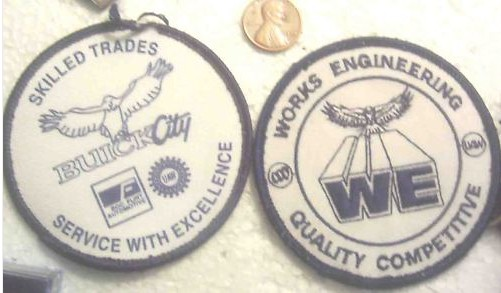 BUICK FACTORY PATCHES