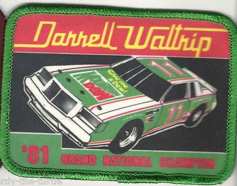 Darrell Waltrip Patch 1981 regal