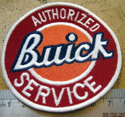 Vintage AUTHORIZED Buick SERVICE Car Patch