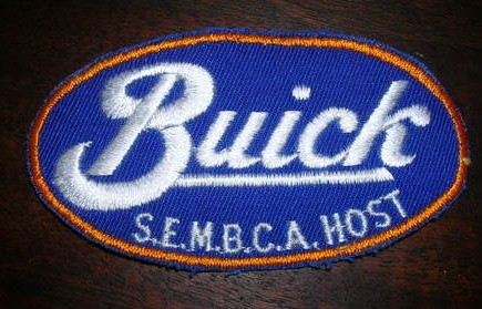 Vintage Buick SEMBCA HOST Patch