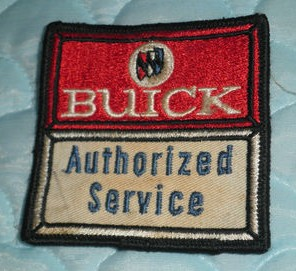 buick authorized service patch