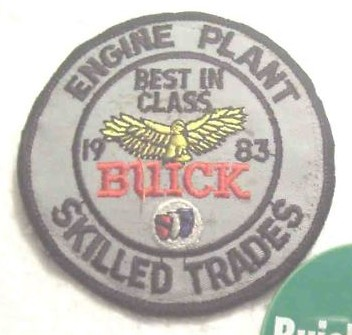 buick engine plant skilled trades patch