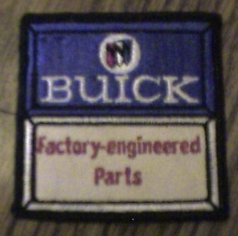 buick factory engineered parts patch