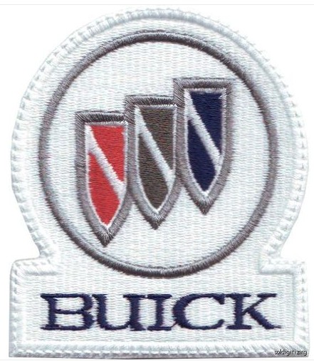 buick tri shield patch