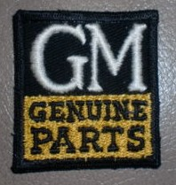 gm genuine parts patch