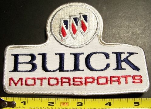 rare Buick Motorsports patch