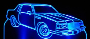 Buick Grand National lighted sign