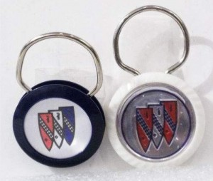 Buick logo key rings