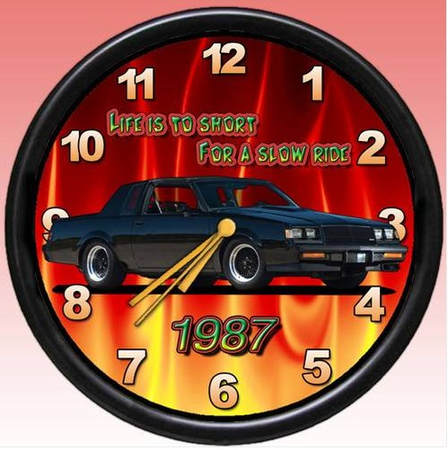 another 1987 buick clock