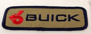 buick arrow patch