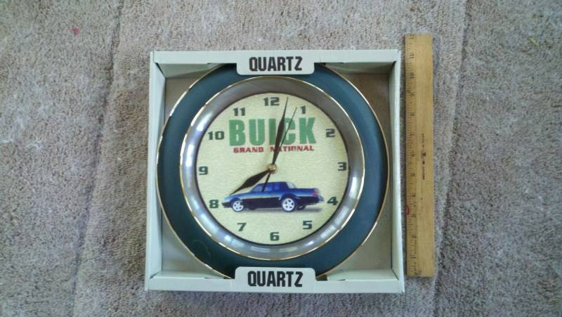 buick gn clock