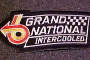 Turbo Buick Grand National Sew On Patch