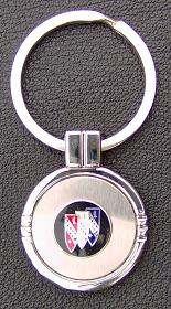 buick shield key ring