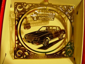 buick grand national ornament
