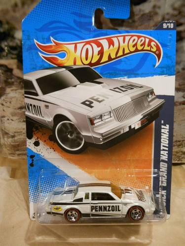 Buick Grand National Pennzoil White HW car Redline tires walmart exclusive