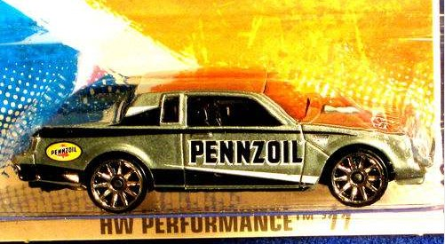 hot wheels gray pennzoil 2011