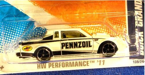 hot wheels white pennzoil 2011